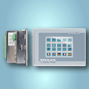 HMI with integrated PLC's<