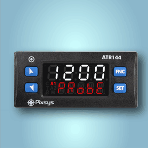 Modbus enabled panel meter